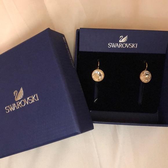 c5019b1bd Swarovski Mini Bella Earrings Gold and Clear. M_5b0ca54305f430e9badec253